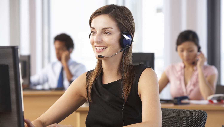 servicios de telefonista